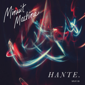 CD MINUIT MACHINE / HANTE - SPLIT (2020) NOVO/LACRADO