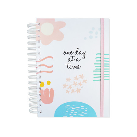 "Planner anual ""one day at a time"""