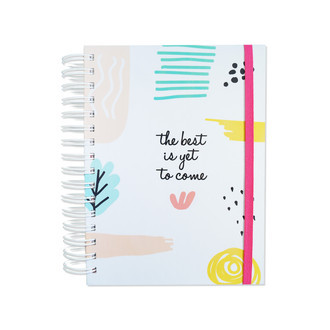 "Planner anual ""the best is yet to come"""
