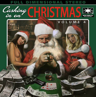 LP CASHING IN ON CHRISTMAS VOLUME 4