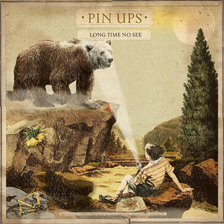 LP PIN UPS - LONG TIME NO SEE (2019) VINIL MARROM - NOVO/LACRADO