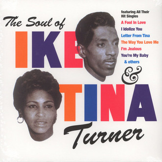 LP IKE & TINA TURNER - THE SOUL OF IKE & TINA TURNER