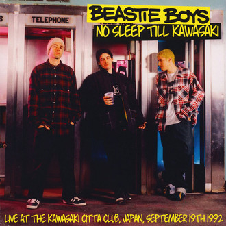 LP BEASTIE BOYS - NO SLEEP TILL KAWASAKI