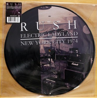 LP Rush - Electric Ladyland - New York City 1974 ( Importado )