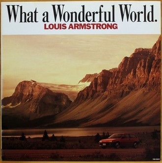 LP Louis Armstrong - What A Wonderful World ( Importado )