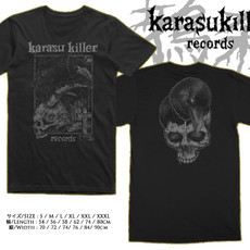 KARASU KILLER RECORDS Official T-Shirt (Grey)