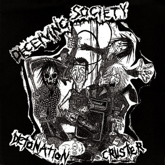 "DECEIVING SOCIETY ""DETONATION CRUSTER"" CD"