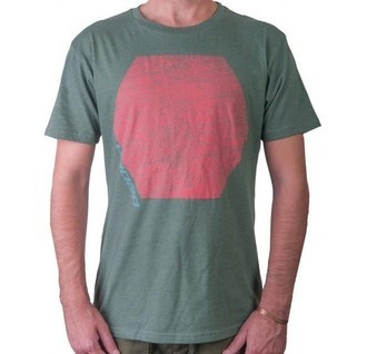 Camisa Loaded Boards Hexagon Tee Green