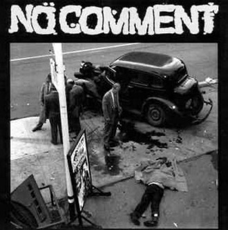 "NO COMMENT - Live On KXLU 1992 7""EP"