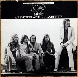 LP Yes - Music / An Evening With Jon Anderson ( Promo / Raro )