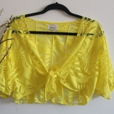 Cropped Eva Yellow