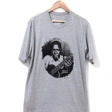 ​Camiseta ​ROBERT JOHNSON (COR CINZA MESCLA)