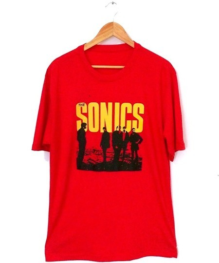 ​Camiseta ​THE SONICS (COR VERMELHA)