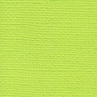 Cardstock Verde com textura - Key Lime - American Crafts