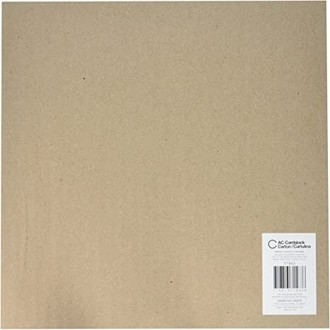 Cardstock liso - Kraft Smooth - American Crafts