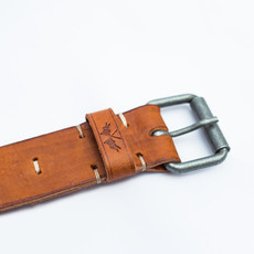 P.S. Leather Belt Caramelo