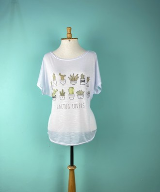Blusa Cactos lovers