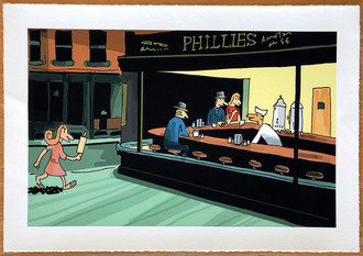 Nighthawks FINE ART A3