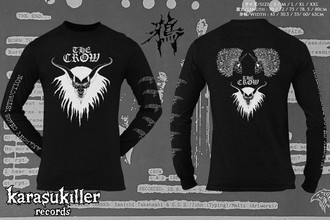 CROW (鴉) The Crow  Oficial Long Sleeve T-Shirt