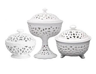 zoom Conjunto de Bombonieres Porcelana Provençal