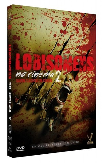 DVD LOBISOMENS NO CINEMA 2 (2 DVDs COM CARDS) (NOVO/LACRADO)