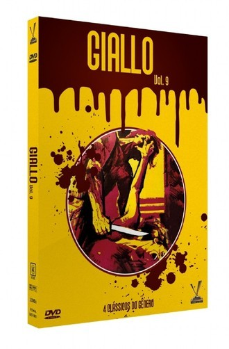 DVD GIALLO VOL. 9 (2 DVDs COM CARDS) (NOVO/LACRADO)
