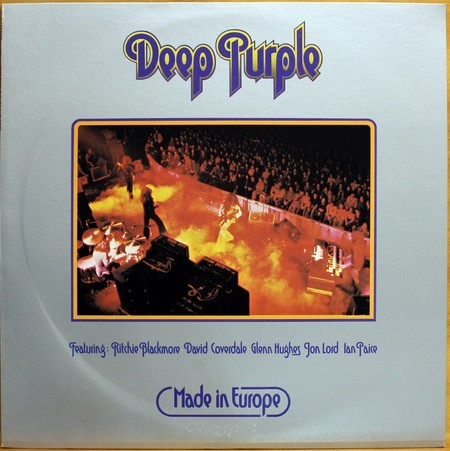 LP Deep Purple - Made In Europe ( Importado )