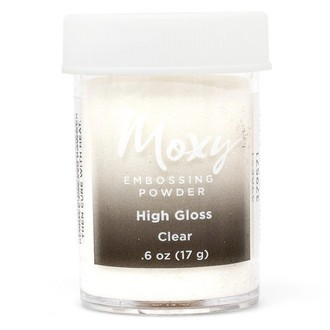 EMBOSSING POWDER - PÓ PARA EMBOSS MOXY - CLEAR