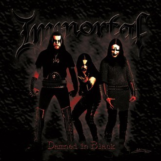 CD IMMORTAL – DAMNED IN BLACK (SLIPCASE) (NOVO/LACRADO)