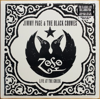 LP Jimmy Page & The Black Crowes - Live At The Greek ( Importado )