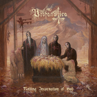 CD PROFANATICA - ROTTING INCARNATION OF GOD (NOVO/LACRADO)