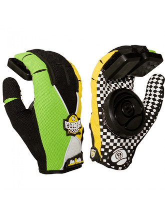 Luva Sector 9 Rally Junior Slide Glove Green Infantil