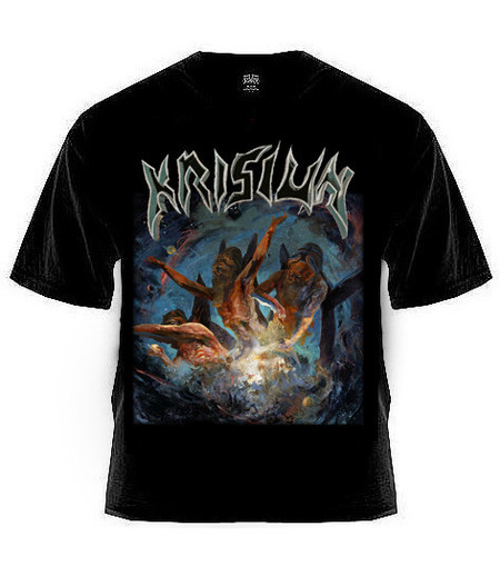 Camiseta Krisiun - Scourge Of The Enthroned (Gildan Importada)
