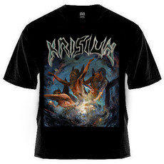 Camiseta Krisiun - Scourge Of The Enthroned (sem estampa nas costas)