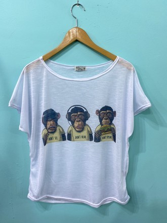 Blusa Macacos