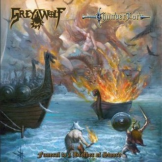 CD GREY WOLF - FUNERAL TO A BROTHER OF SWORD (NOVO/LACRADO)