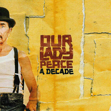 CD OUR LADY PEACE - A DECADE (USADO/IMPORTADO)