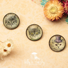 Broche Camafeu Purrfect