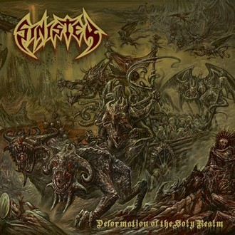 CD SINISTER - DEFORMATION OF THE HOLY REALM (NOVO/LACRADO)