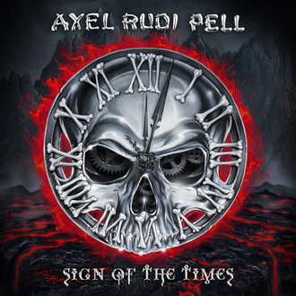 CD AXEL RUDI PELL - SIGN OF THE TIMES  (NOVO/LACRADO)
