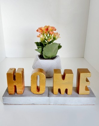 Letreiro Decorativo com Base (4 letras)