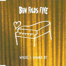 CD BEN FOLDS FIVE - WHERE'S SUMMER B? (CD SINGLE) (USADO/IMP.)