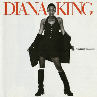 CD DIANA KING - TOUGHER THAN LOVE (USADO/IMP)