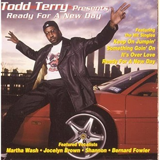 CD TODD TERRY - READY FOR A NEW DAY (USADO)