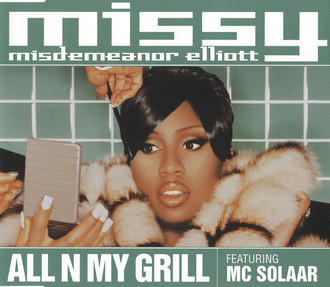 CD MISSY ELIOTT - ALL N MY GIRL (CD SINGLE) (USADO/IMP)