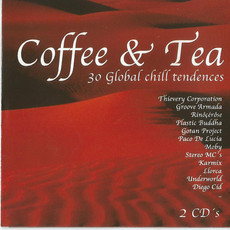 CD COFFEE & TEA - 30 GLOBAL CHILL TENDENCIES (CD DUPLO) (USADO/IMP)