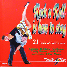 CD ROCK 'N' ROLL IS HERE TO STAY - 21 ROCK 'N' ROLL GREATS(USADO/IMP)