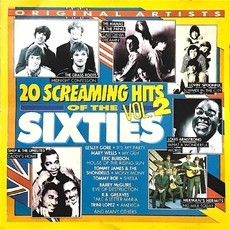 CD VÁRIOS - 20 SCREAMING HITS OF THE 60's - VOL. 2 (USADO)