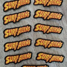 Surf Aliens - Patch Bordado