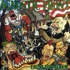CD AGNOSTIC FRONT - CAUSE FOR ALARM (IMP/NOVO/LACRADO)